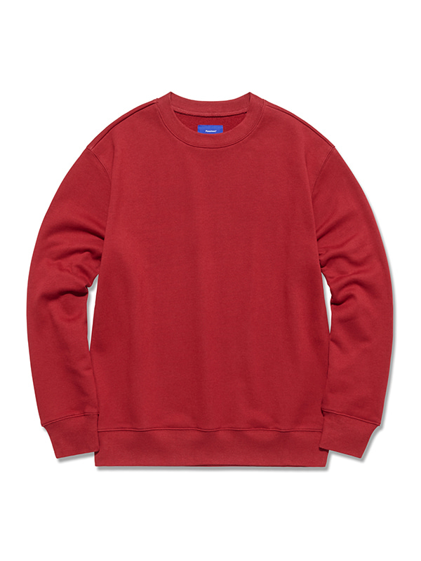 PAVEMENT CREWNECK GA [BURGUNDY]