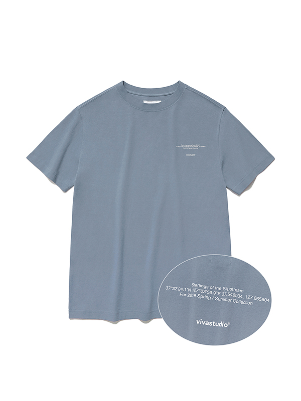 NEW LOCATION SHORT SLEEVE IS [PASTEL BLUE]