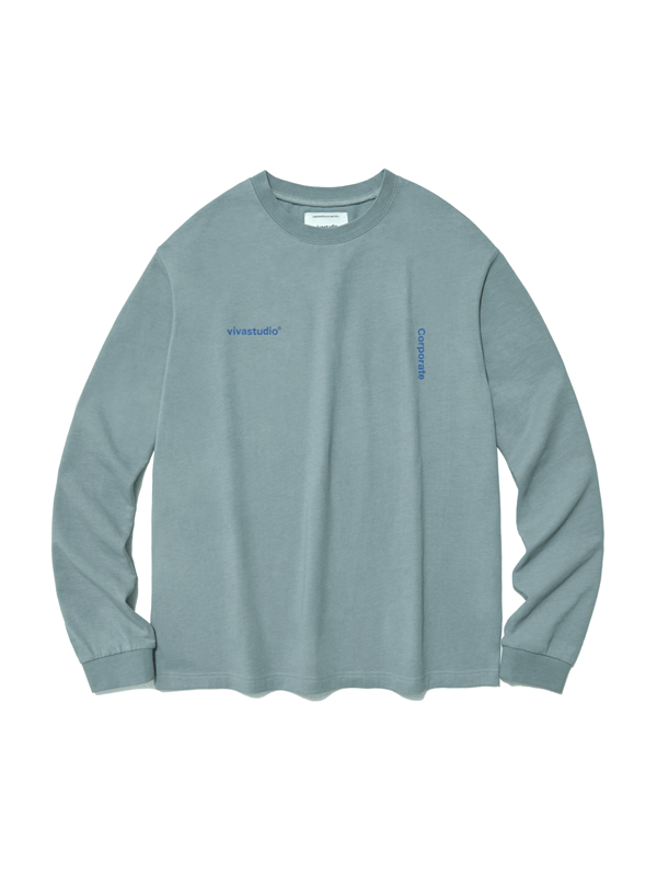 CORPORATE LONG SLEEVE IS [COOL GREY]
