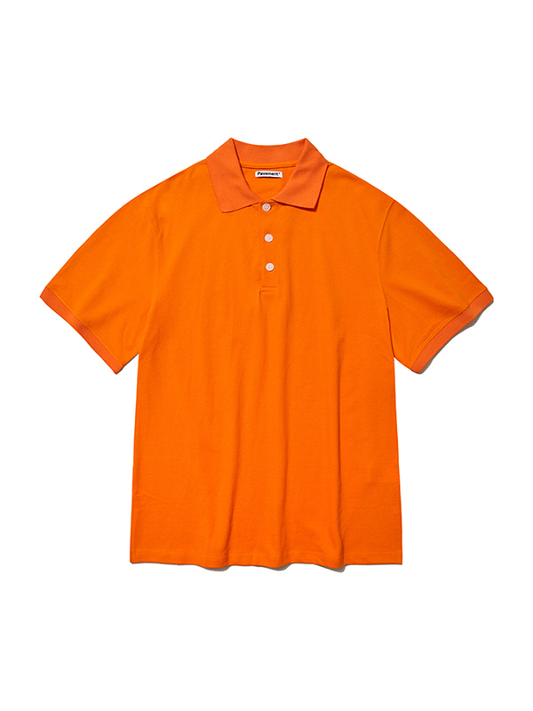PK SHORT SLEEVE IS [ORANGE]
