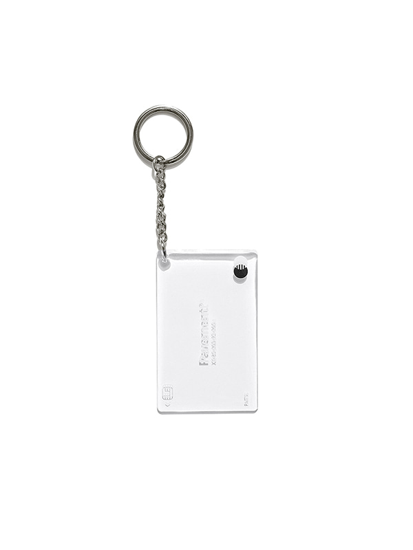 CARD KEYRING IS  [WHITE]