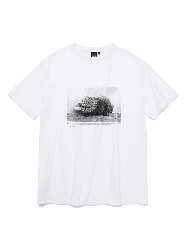 REPOSTER PORCUPINE SHORT SLEEVE JS [WHITE]