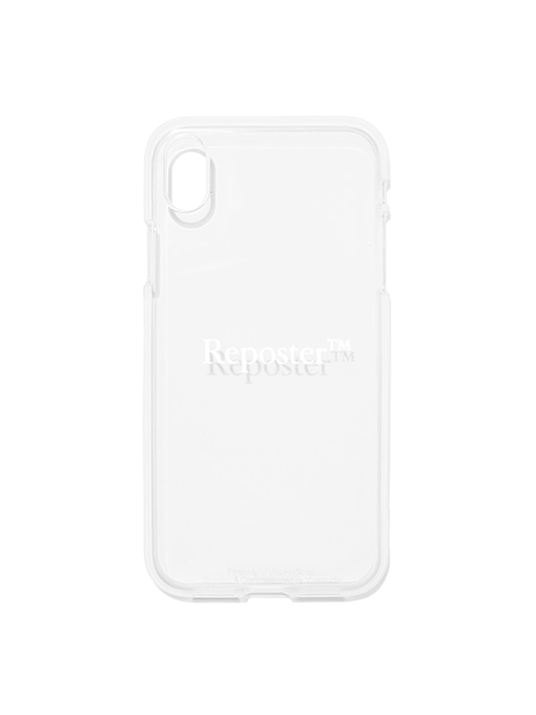 REPOSTER PHONE CASE JS [WHITE]