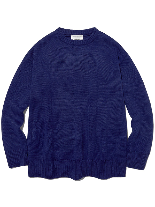 BASIC KNIT IA [ROYAL BLUE]