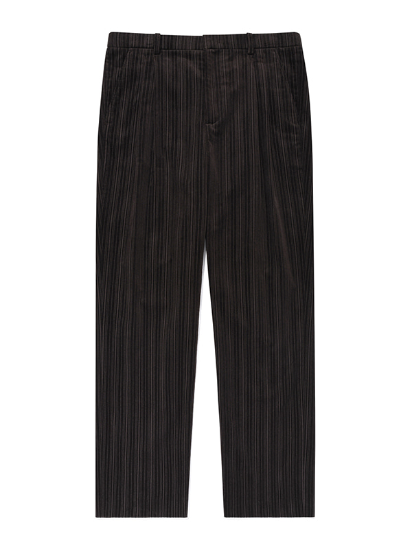 BALLOON SLACKS JA [BROWN]