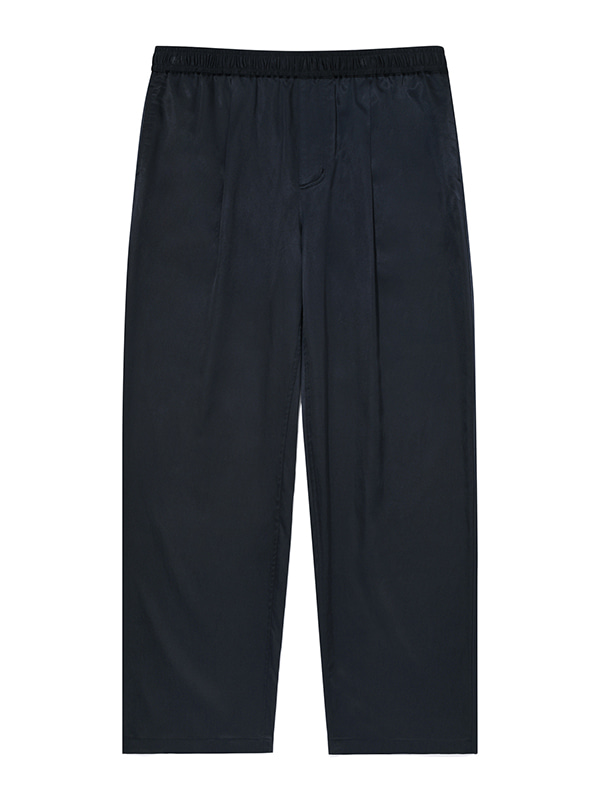 WIDE CUPRA BANDING PANTS JA [NAVY]